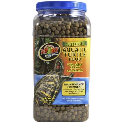 Zoo Med Natural Aquatic Turtle Food - Maintenance Formula 45oz / 1.27kg