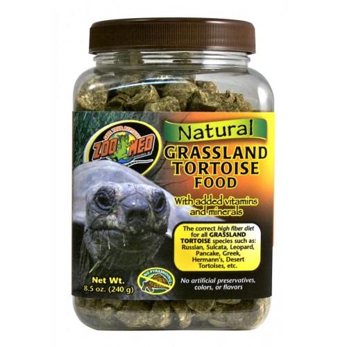 Zoo Med Natural Grassland Tortoise Food 8.5oz / 240g