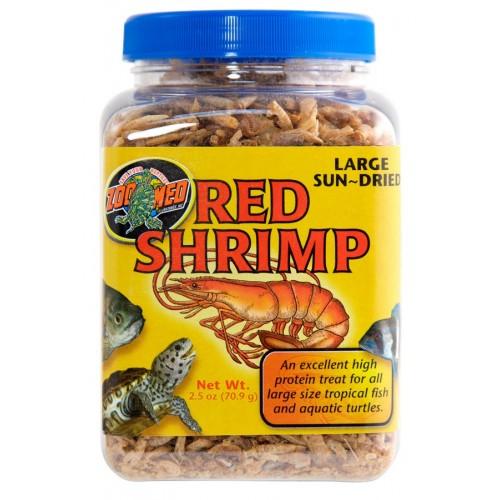 Zoo Med Large Sun-Dried Red Shrimp 2.5oz / 70.9g