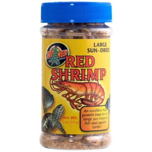 Zoo Med Large Sun-Dried Red Shrimp 5oz / 142g