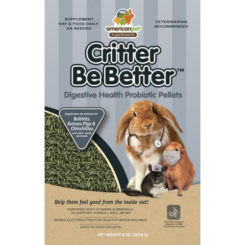 APD Critter Be Better Digestive Health Pellets (8oz)