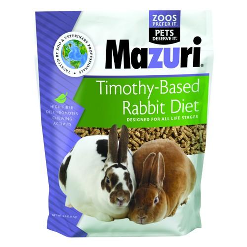 Mazuri Timothy Rabbit Diet 5lb