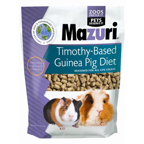 Mazuri Timothy Guinea Pig Diet 5lb